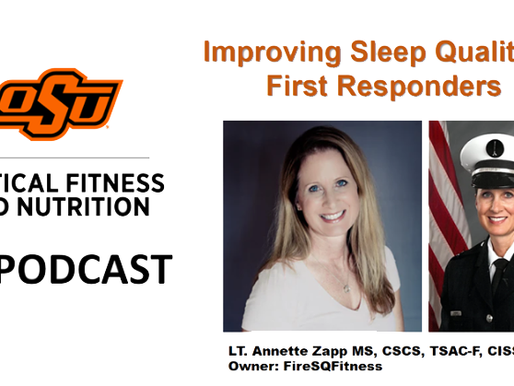 Oklahoma State Tactical Fitness and Nutrition Podcast