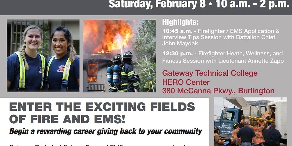Gateway Technical College Fire and EMS Recruitment Event
