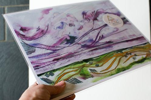 Hyacinth Skies Fine Art Print