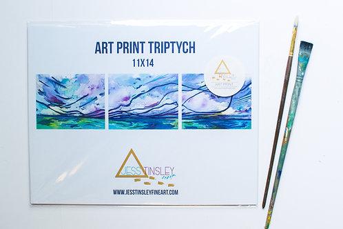 Beautiful Seas Triptych Prints