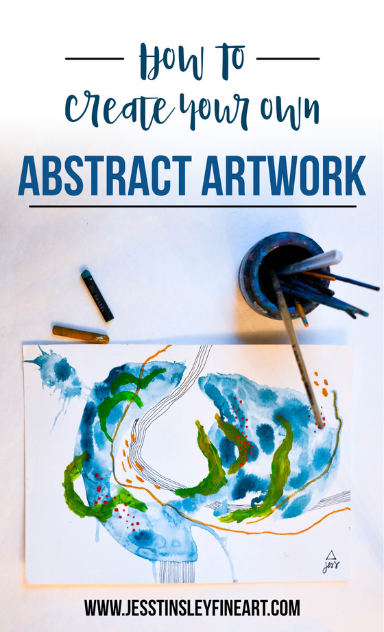 One Way to Paint an Abstract