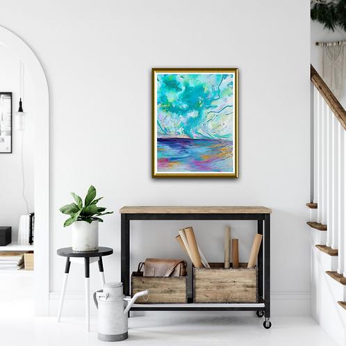 """Emerald Isles"" Original Oil Painting"