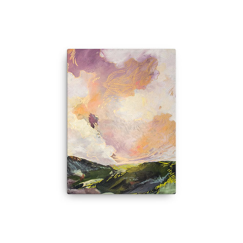 Glowing Skies Canvas Art Reproduction