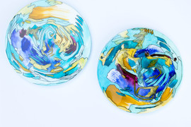 Round Abstract Artwork