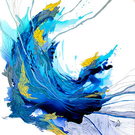 Blue Escape Artwork