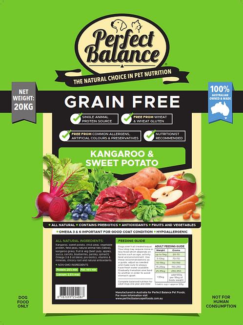 Perfect Balance Grain Free Kangaroo & Sweet Potato 20KG