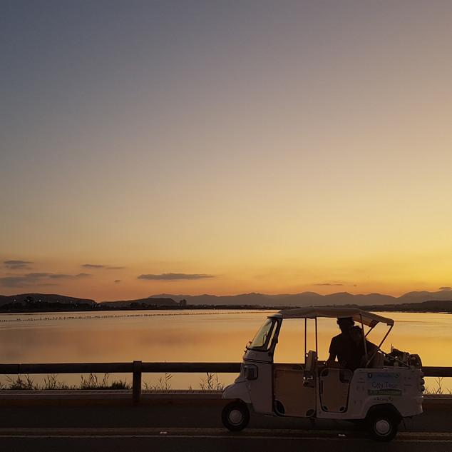 Tour Spiaggie: tramonto