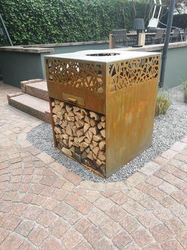 Outdoor Feuerstelle