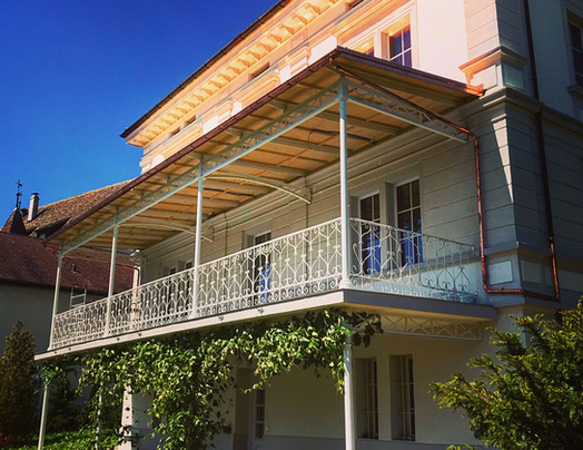 Kompletter Balkonvorbau