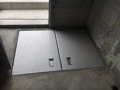 Indoor Bodenklappe