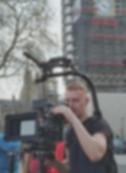 Ben Thompson Operating the Red Scarlet in London