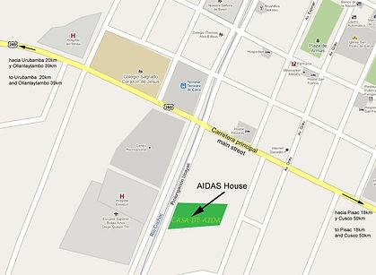 Casa de Aida, Google Maps