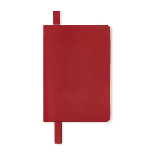 RED LEATHER BOOKMARK