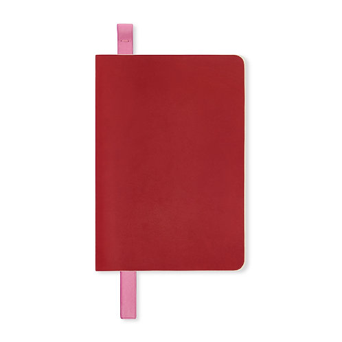 PINK LEATHER BOOKMARK