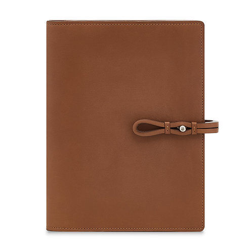 TAN LEATHER TRAVEL WALLET