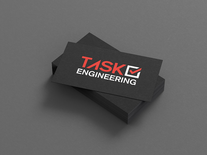 Task Engineering - Business card Front c