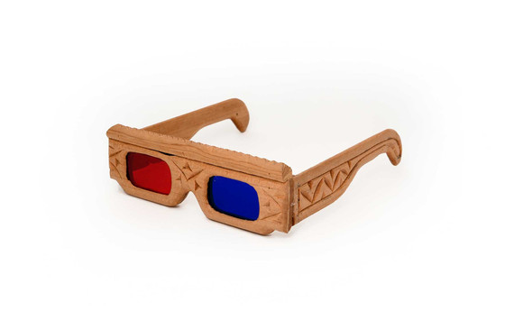 Anaglyph beldi glasses