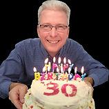 Flemming 30th Cake-01 - Flemming Christe