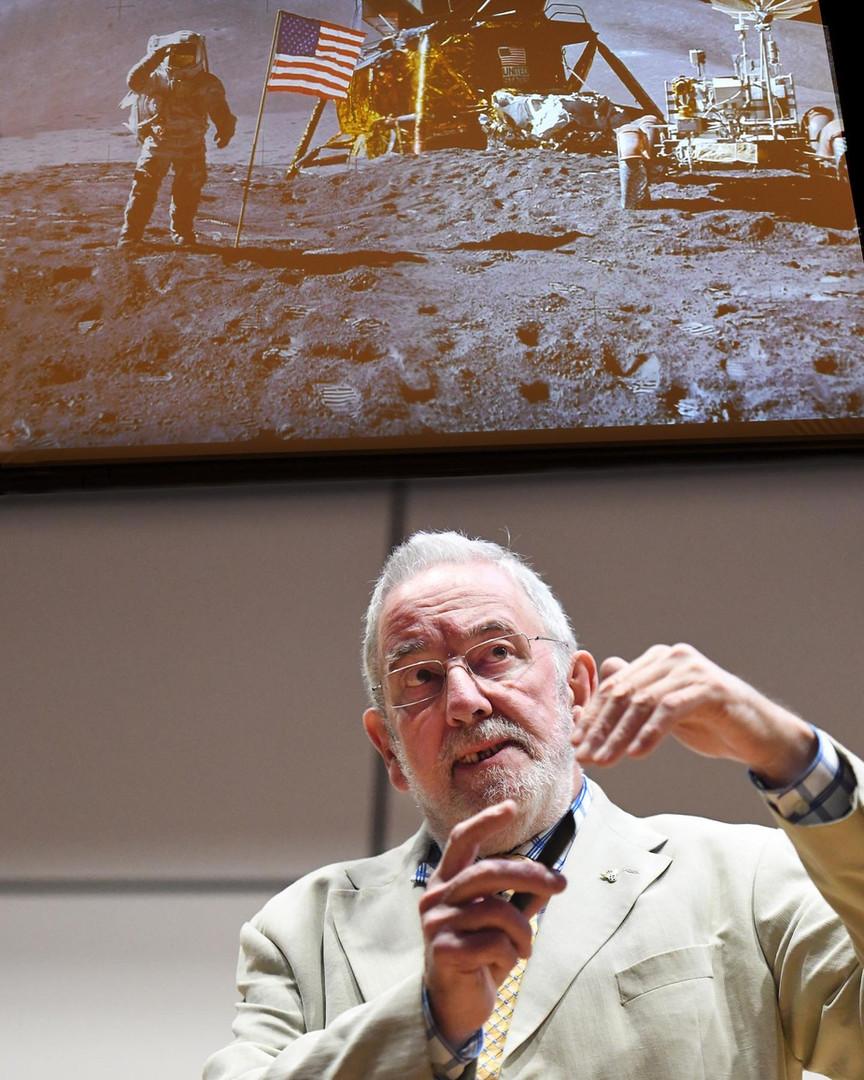 Dr david Baker - The Moon Landing