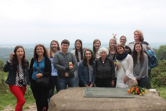 A Day at Ashdown Forest with Dr. Ann Thwaite