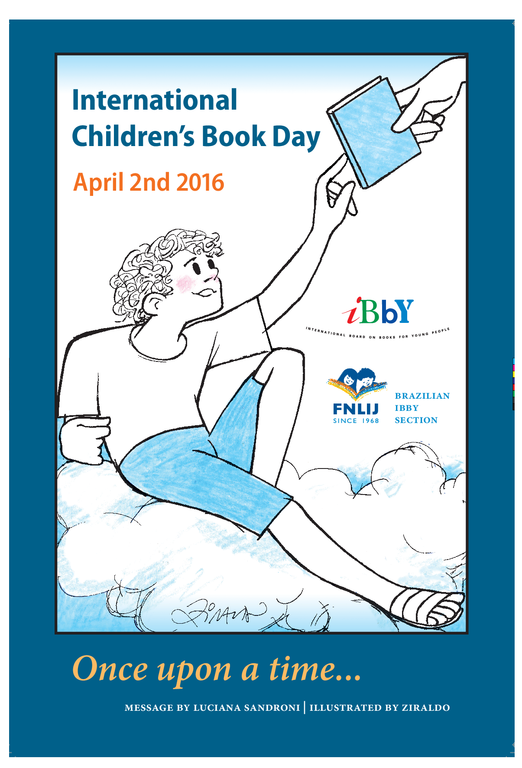 International Children's Book Day Poster 2016 created by Ziraldo