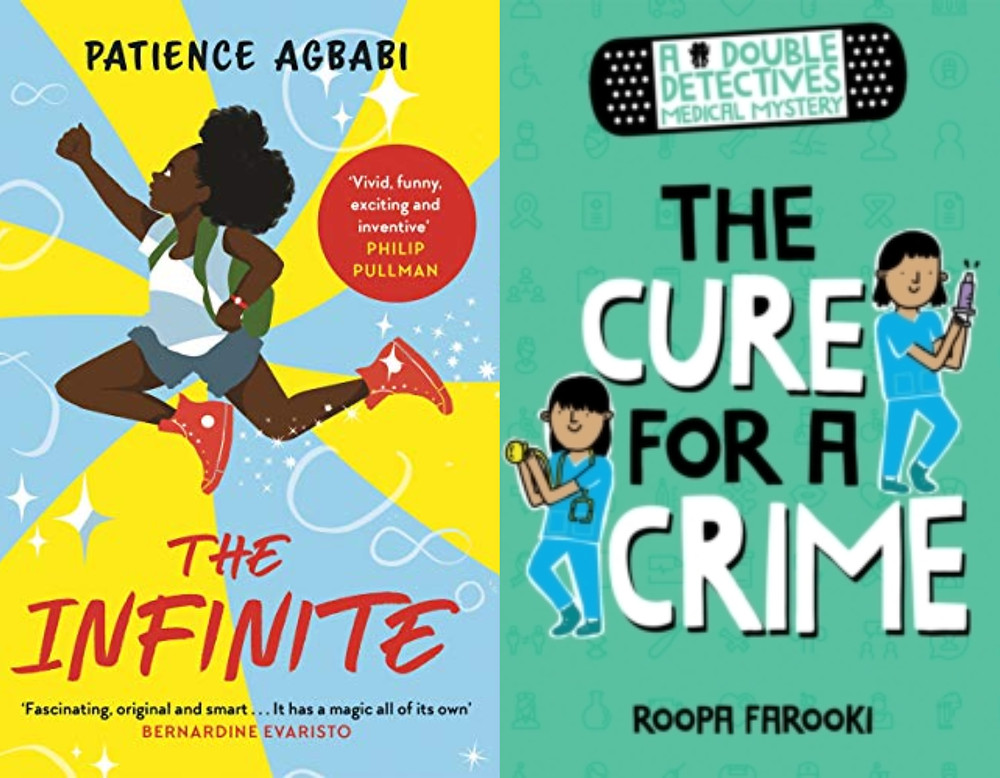 The Infinite by Patience Agbabi & The Cure for a Crime by Roopa Farooki