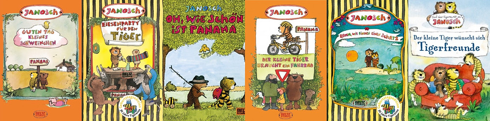 Janosch's Tiger and Bear Books