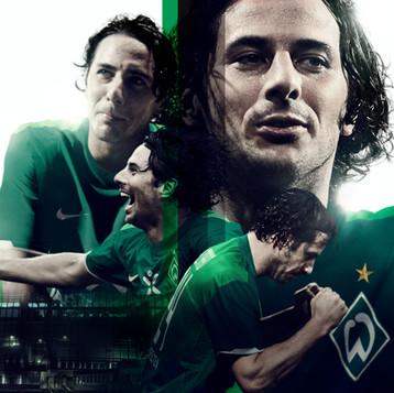 NIKE // National Team Kits // Posters SV Weder Bremen