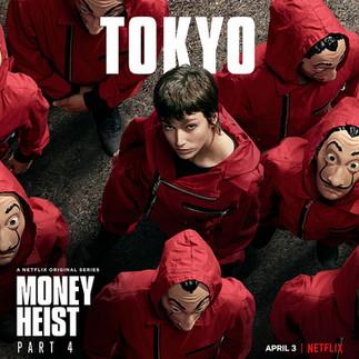 NETFLIX // Money Heist - La Casa De Papel
