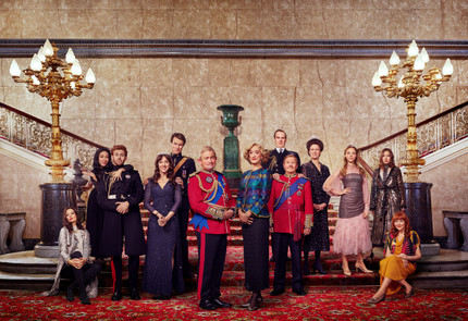Adam Lawrence // Channel 4 // The Windsors Series 3
