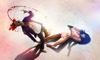 Girls In Undies Vs Zombies // Gunshot Gary // SFX M-UP: Bill Turpin // Photos: Jesse Seaward