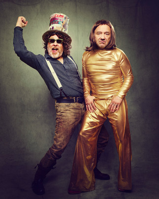 Adam Lawrence // Vic & Bob // Q Magazine Retrospective