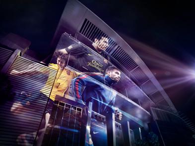 NIKE // Replica Team Kits // Barcelona Team Image 2