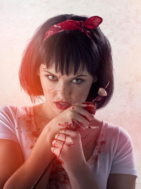 Girls In Undies Vs Zombies // Arrow Bolt Colt // SFX M-UP: Bill Turpin // Photos: Jesse Seaward