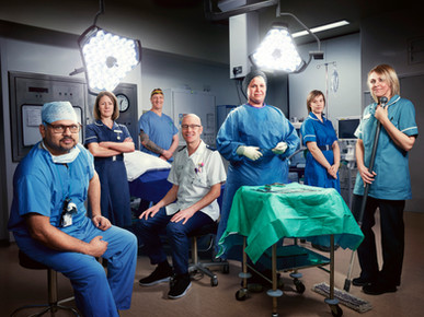 UK TV // Inside The Operating Theater // Adam Lawrence