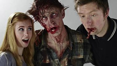 Girls In Undies Vs Zombies // SFX Clip // SFX M-UP: Bill Turpin // Photos: Jesse Seaward