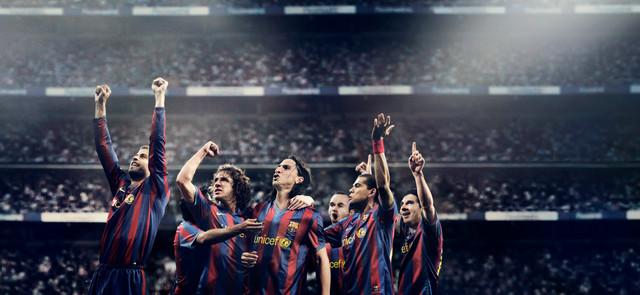 NIKE // Replica Team Kits // Barcelona Team Image 3