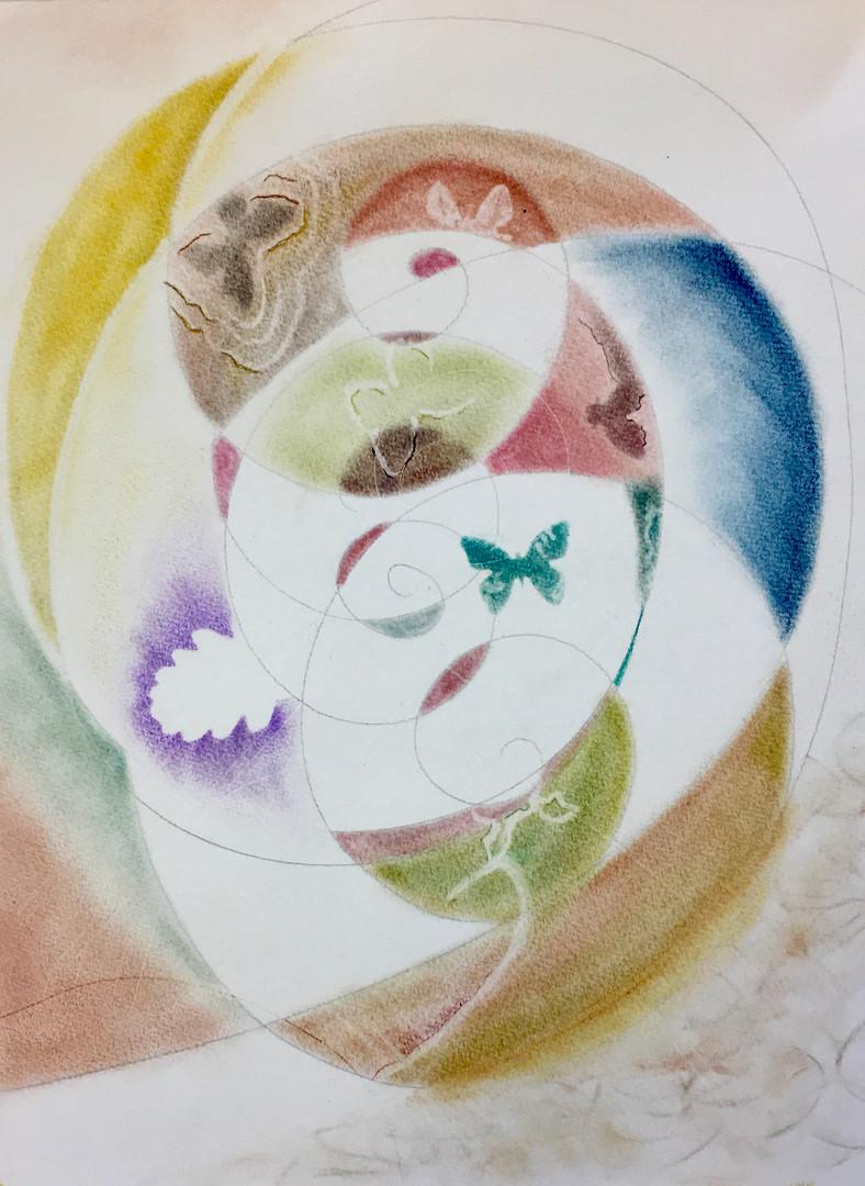 """Série Fibonacci """"Papillon"""""""