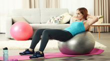 5 move ultimate full body exercise ball workout