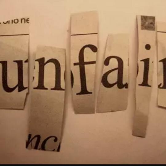 Unfair zine making