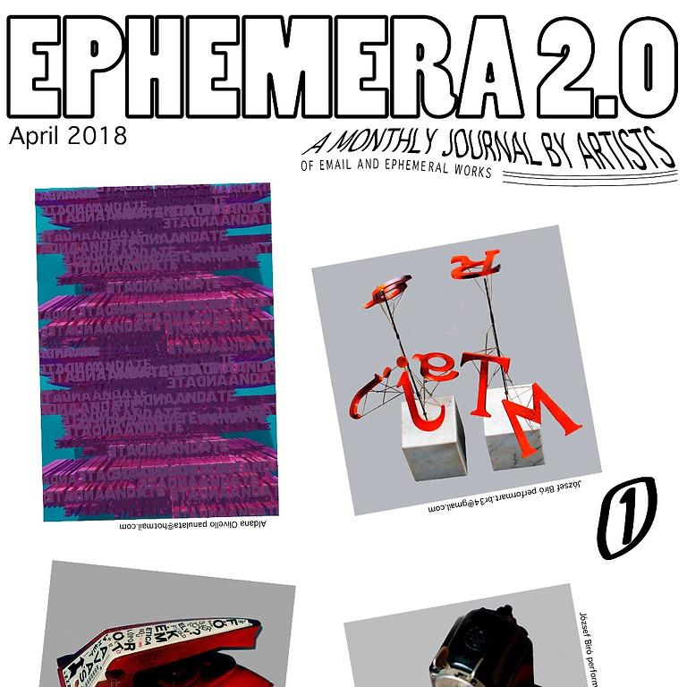 OPEN CALL Ephemera 2.0