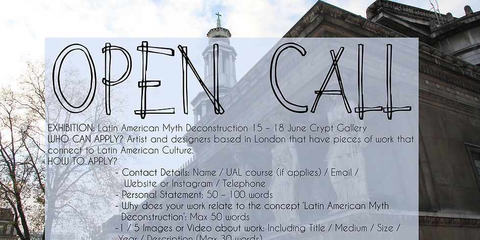 OPEN CALL LATINOS IN LONDON