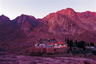 Égypte Zone Sainte-Catherine