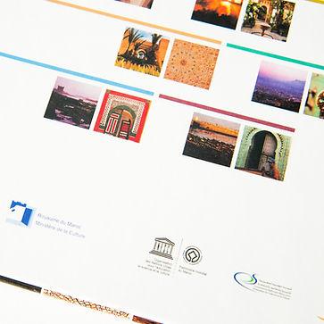 Livre Patrimoine mondial de l'UNESCO Les sites Marocains EDITIONS GELBART