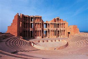 Libye Site archéologique de Sabratha