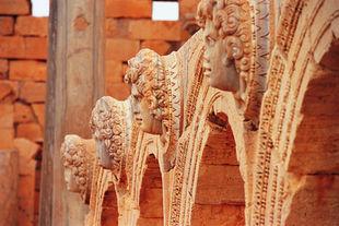 Libye Site archéologique de Leptis Magna