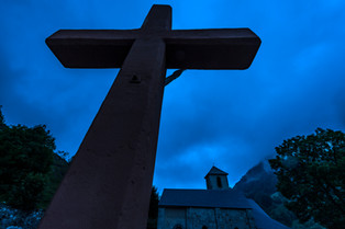 Gavarnie  Eglise paroissiale Saint-Jean-