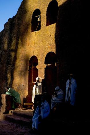 Églises creusées dans le roc de Lalibela