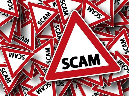 Achtung vor Scams!