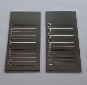 Bitcoin Seed Backup Stahlplatte Steel Kryptowährungen Krypto